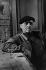 """Le long de La Deûle. Au café """"le Pont-Maudit"""", 1953. Photographie de Jean Marquis (né en 1926). © Jean Marquis / Roger-Viollet"""