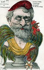"""Lui !!! Le champion de l'apaisement. """"Quand le coq chantera Loubet se réveillera"""". Caricature sur Emile Loubet (1838-1929), homme d'Etat français. Carte postale humoristique. © Roger-Viollet"""
