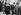 Signature du Traité de Versailles, 1919. De gauche à droite : Georges Clemenceau, Thomas Woodrow Wilson et David Lloyd George. © Albert Harlingue / Roger-Viollet