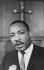 Martin Luther King (1929-1968), pasteur américain. 1965. © Ullstein Bild / Roger-Viollet