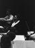 Montserrat Caballé (1933-2018), cantatrice espagnole et Anton Guadagno (1925-2002), chef d'orchestre italien. Paris, salle Pleyel, mai 1967. © Bernard Lipnitzki / Roger-Viollet