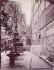 Eglise Saint-Séverin, rue Saint-Jacques, à l'angle de la rue Saint-Séverin. Paris (Vème arrondissement), août 1899. Photographie : Eugène Atget. Paris, musée Carnavalet. © Eugène Atget / Musée Carnavalet / Roger-Viollet
