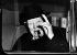 """Winston Churchill (1874-1965), homme d'Etat britannique, fumant un cigare le jour de la première de """"The Finest Hours"""", film de Peter Baylis, inspiré de sa vie. Londres (Angleterre), 29 avril 1964. © PA Archive/Roger-Viollet"""