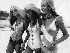 Femmes en maillots de bain Benger's Ribana. 1970. © Ullstein Bild/Roger-Viollet