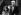 Alberto Moravia (1907-1990), écrivain italien, et Susan Sontag (1933-2004), romancière et essayiste américaine, lors d'un congrès. Hambourg (Allemagne), juin 1986.  © Wolfang M. Weber/Ullstein Bild/Roger-Viollet