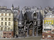 Walk in Paris in miniatures © Eric Emo/Musée Carnavalet/Roger-Viollet