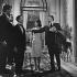"""""""L'Amant de Cinq Jours"""", film de Philippe de Broca. Jean-Pierre Cassel et Jean Seberg. France, 2 novembre 1960.  © Alain Adler / Roger-Viollet"""