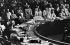 Conseil de sécurité de l'O.N.U. Vote d'une résolution concernant la Corée du Nord. New York (Etats-Unis), 25 juin 1950. © Roger-Viollet