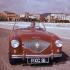 Automobile Austin Healey 100 (1953-1956).  © Roger-Viollet