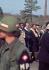 Marches de Selma à Montgomery pour les droits civiques. John Lewis, Martin Luther King, Ralph Bunche et le rabbin Abraham Joshua Heschel, le premier jour des marches. Alabama (Etats-Unis), 21 mars 1965. Photo : Matt Herron. © 1976 Matt Herron / Take Stock