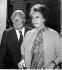 Madame Indira Gandhi avec Edward Heath. 25 juin 1973. © TopFoto/Roger-Viollet