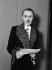 Maurice Genevoix (1890-1980), écrivain français, en habit d'académicien. 1948.   © Roger-Viollet