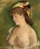 """Edouard Manet (1832-1883). """"La Blonde aux seins nus"""". Huile sur toile, 1878. Huile sur toile. Paris, musée d'Orsay.  © Iberfoto / Roger-Viollet"""