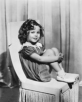 Shirley Temple (1928-2014), actrice américaine. Hollywood (Californie, Etats-Unis), vers 1935. © Underwood Archives/The Image Works/Roger-Viollet