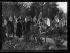 Guerre 1914-1918. Mr et Mme Poincaré au cimetière de Bagneux (Hauts-de-Seine), 1er novembre 1918. © Excelsior – L'Equipe/Roger-Viollet