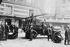 Pompe automobile Delahaye des Sapeurs pompiers. Caserne Carpeaux. Paris, 1908. © Maurice-Louis Branger/Roger-Viollet