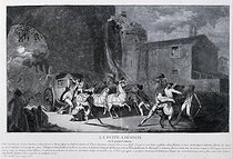 The planned escape or the betrayal of the King Louis XVI of France. Engraving. Paris, musée Carnavalet. © Musée Carnavalet/Roger-Viollet