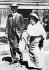 Paul Levi (1883-1930), avocat et militant communiste allemand, et Rosa Luxemburg (1870-1919), révolutionnaire marxiste allemande. Berlin (Allemagne), 1914. © Ullstein Bild / Roger-Viollet