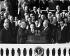 Harry Truman (1884-1972) et Richard Nixon (1913-1994), hommes d'Etat américains, lors d'une prestation de serment. Washington D.C. (Etats-Unis), 1945-1953. © Alinari/Roger-Viollet