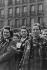 Guerre 1939-1945. Manifestation du 1er mai 1945. Résistantes rescapées de camps de concentration. © Roger Berson/Roger-Viollet