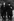 Alexandre Soljenitsyne (1908-2008), écrivain russe, et Heinrich Böll (1917-1985), écrivain allemand, dans son jardin de l'Eifel. Allemagne, février 1974. © Sven Simon / Ullstein Bild / Roger-Viollet