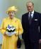 La reine Elisabeth II (née en 1926), et son époux le prince Philip d'Edimbourg (né en 1921), 2005. © TopFoto / Roger-Viollet