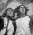 """Tournage du film """"La Marseillaise"""" de Jean Renoir. France, 1937. © Gaston Paris / Roger-Viollet"""