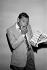Henri Salvador (1917-2008), chanteur français, vers 1970.     © Carlos Gayoso/Roger-Viollet