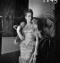 """Danielle Darrieux sur le tournage de """"Mayerling"""" d'Anatole Litvak. France, 1935. © Boris Lipnitzki/Roger-Viollet"""