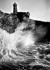 Tempête sur le phare de Ploumanach (Côtes-d'Armor).   © CAP/Roger-Viollet