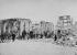 La Commune de Paris (1871). Ruines des docks de la Villette. Pompiers et douaniers. Bibliothèque historique de la Ville de Paris.    © BHVP/Roger-Viollet