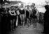 Championnat du monde de natation. Tartakovev et Otto Scheff (au centre). France, 1907. © Maurice-Louis Branger/Roger-Viollet