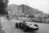 Grand Prix de Monaco. Graham Hill au volant de sa BRM. 29 mai 1960. © Roger-Viollet