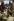 Festival de Woodstock. Distribution de nourriture. Bethel (Etats-Unis), août 1969.  © Tom Miner/The Image Works/Roger-Viollet