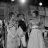 """Austerlitz"", film d'Abel Gance. Martine Carol, Pierre Mondy et Claudia Cardinale. France, 1960.  © Alain Adler/Roger-Viollet"