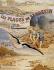 Affiche publicitaire pour les plages et le site de Saint-Brévin (Loire-Atlantique). 1908.  © Roger-Viollet
