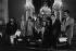 Marcel Dassault (1892-1986), ingénieur et homme politique français, doyen de l'Assemblée nationale, et Marcel Bleustein-Blanchet (1906-1996), publicitaire français. © Jacques Cuinières / Roger-Viollet