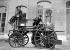 Ancienne pompe à vapeur de la ville de Mulhouse (Haut-Rhin). Juin 1953.  © Roger-Viollet