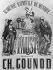 """Affiche pour """"Faust"""", opéra de Charles Gounod. © Roger-Viollet"""