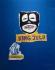 """Jean-Michel Basquiat (1960-1988). """"Le roi des zoulous"""" (King Zulu). Acrylique, 1986. Barcelone (Espagne), musée d'art contemporain. © Iberfoto / Roger-Viollet"""