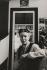 Simone de Beauvoir (1908-1986), écrivain, chez elle, rue Schoelcher. Paris, 1970.  © Jean Mounicq/Roger-Viollet