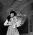 Yvette Horner (1922-2018), accordéoniste française. © Roger-Viollet