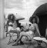 Baigneuses à Deauville (Calvados). Eté 1946. © Roger-Viollet