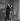 """Jacques Fabbri et Mathilde Casadesus dans """"Que d'eau, que d'eau"""". Théâtre Fontaine. Paris, janvier 1953. © Studio Lipnitzki/Roger-Viollet"""