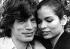 Mick Jagger (né en 1943), musicien et chanteur anglais, membre du groupe Rolling Stones, avec son épouse Bianca Jagger, dans les années 1970. © TopFoto / Roger-Viollet