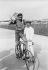 Lucien Petit-Breton (1882-1917), coureur cycliste français. Vainqueur du Tour de France en 1907 et 1908. © Maurice-Louis Branger/Roger-Viollet