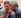 Le prince Charles (né en 1948) et Nelson Mandela (1918-2013), président de la République d'Afrique du Sud. Londres (Angleterre), Brixton. 1996. © PA Archive / Roger-Viollet