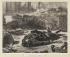 """Edouard Manet (1832-1883). """"Guerre civile (1871)"""". Lithographie, 1871. Paris, musée Carnavalet.  © Musée Carnavalet/Roger-Viollet"""