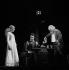 """Isabelle Adjani, Louis Arbessier et Jean-Luc Boutté dans """"Ondine"""" de Jean Giraudoux. Paris, Comédie-Française, mars 1974. © Jean-François Cheval / Roger-Viollet"""