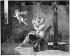 """""""Un bon tiens vaut mieux que deux tu auras"""". Dessin de Jean-Baptiste Mallet. Gravure de Parfait Augrand. B.N.F. © Neurdein/Roger-Viollet"""